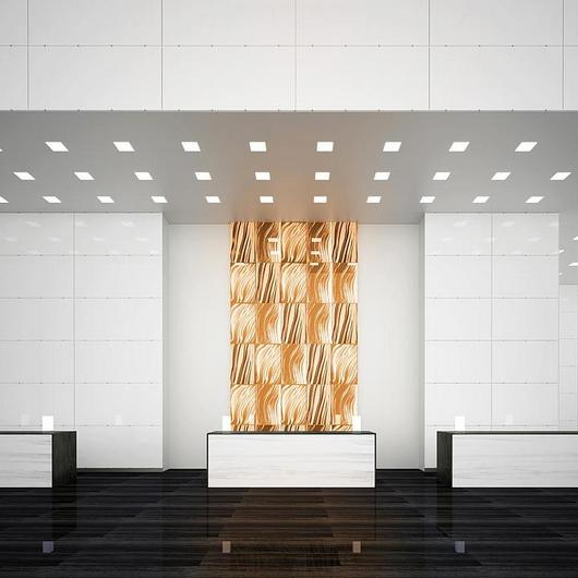 TurnKey™ System for Back-Lit & Opaque Interior Glass Walls / Bendheim