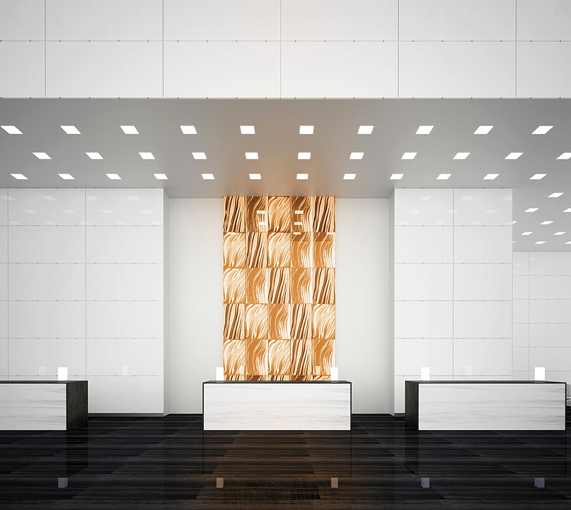 TurnKey™ System for Back-Lit & Opaque Interior Glass Walls
