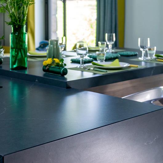 Revestimento Silestone® em Reforma de Cozinha / Cosentino