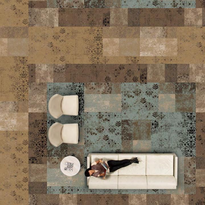 Carpetes Modulares da coleção Hipover History