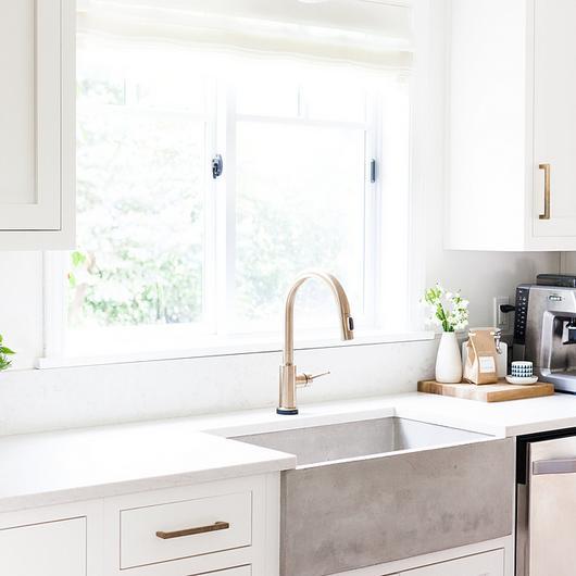 Revestimiento Silestone® en Cocina de Coco+Kelley / Cosentino
