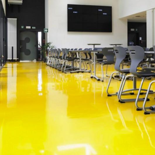 Smooth PU Resin Flooring - Sika ComfortFloor® / Sika