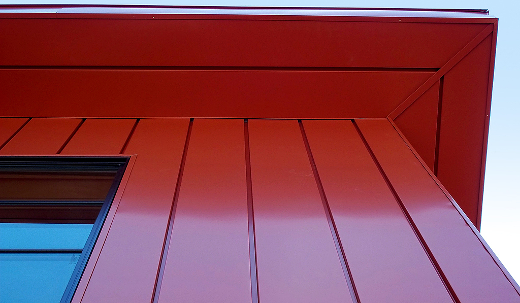 Panel Metálico para Fachadas - VersaSeam™