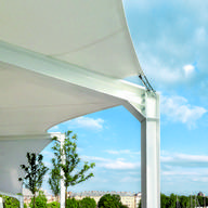Tensile Architecture in Aqua Luna