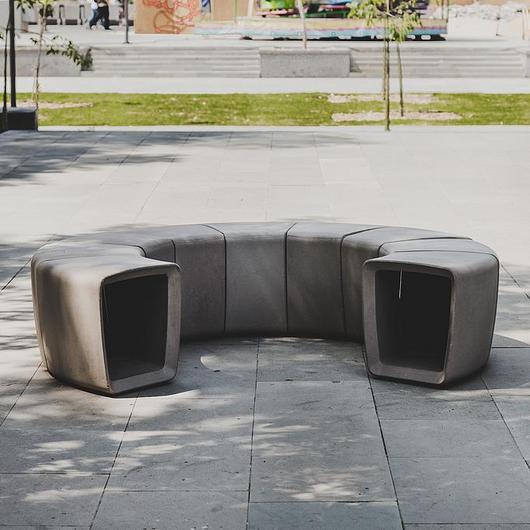 Mobiliario urbano - Asiento 009