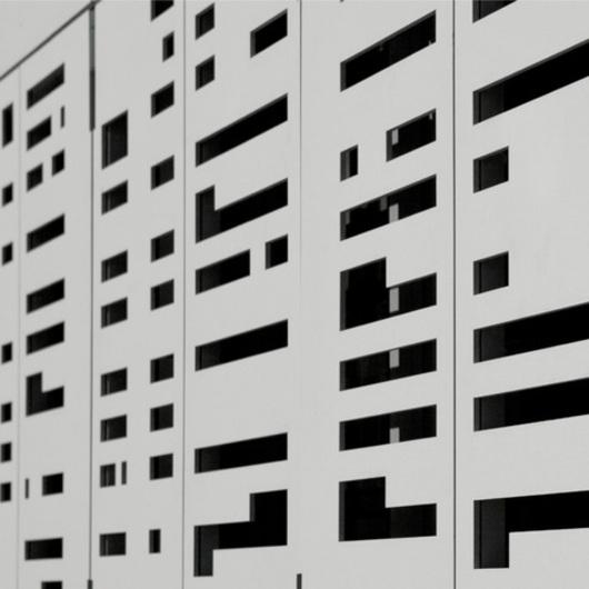 Revestimiento exterior Equitone Pictura / Pizarreño