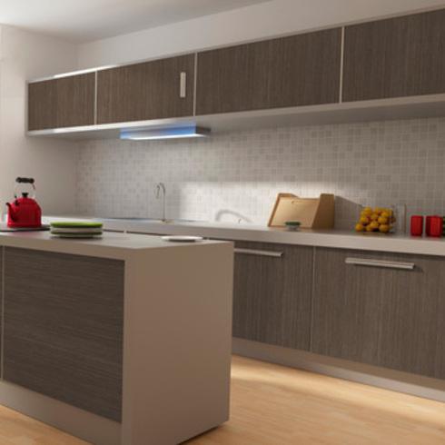 Galeria de mdp melamina y mdf melamina inspirados en la for Muebles de mdf para cocina