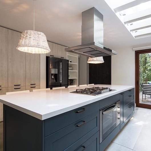 Muebles de cocina con tirador