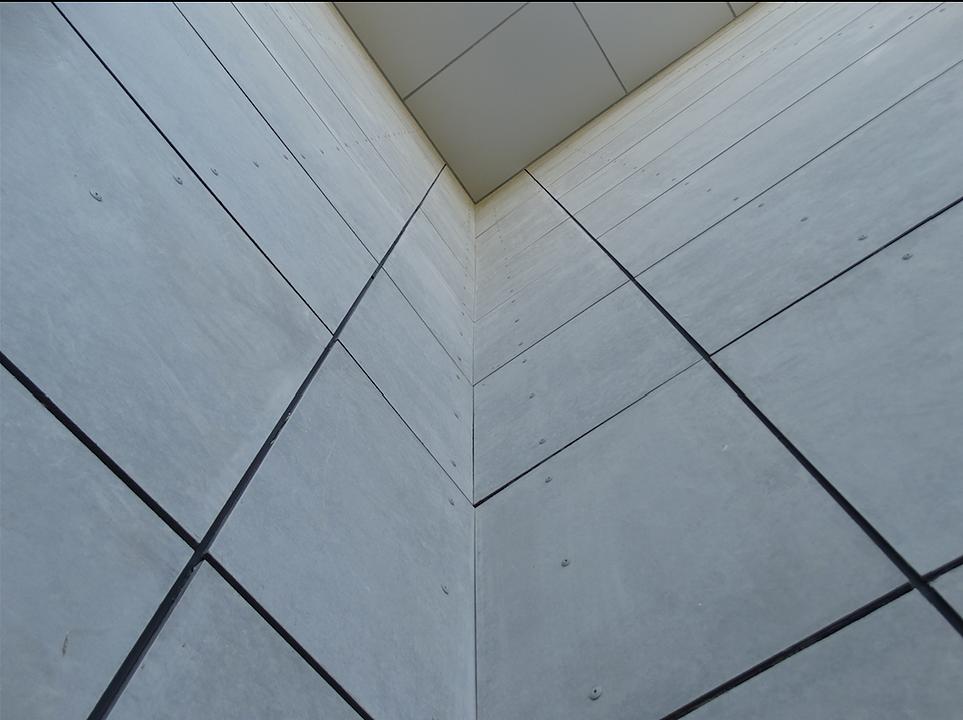 Revestimiento exterior Equitone Tectiva / Placa de Fibrocemento Etercolor  - Pizarreño