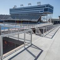 Hollaender® Railings in Sports Facilities