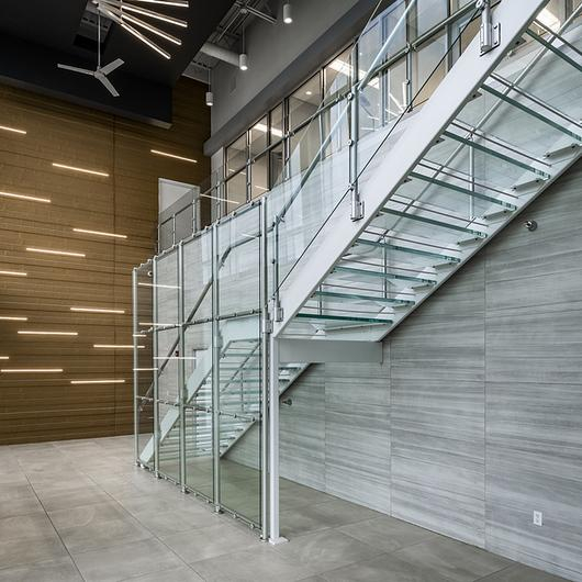 Hollaender® Railings in Offices
