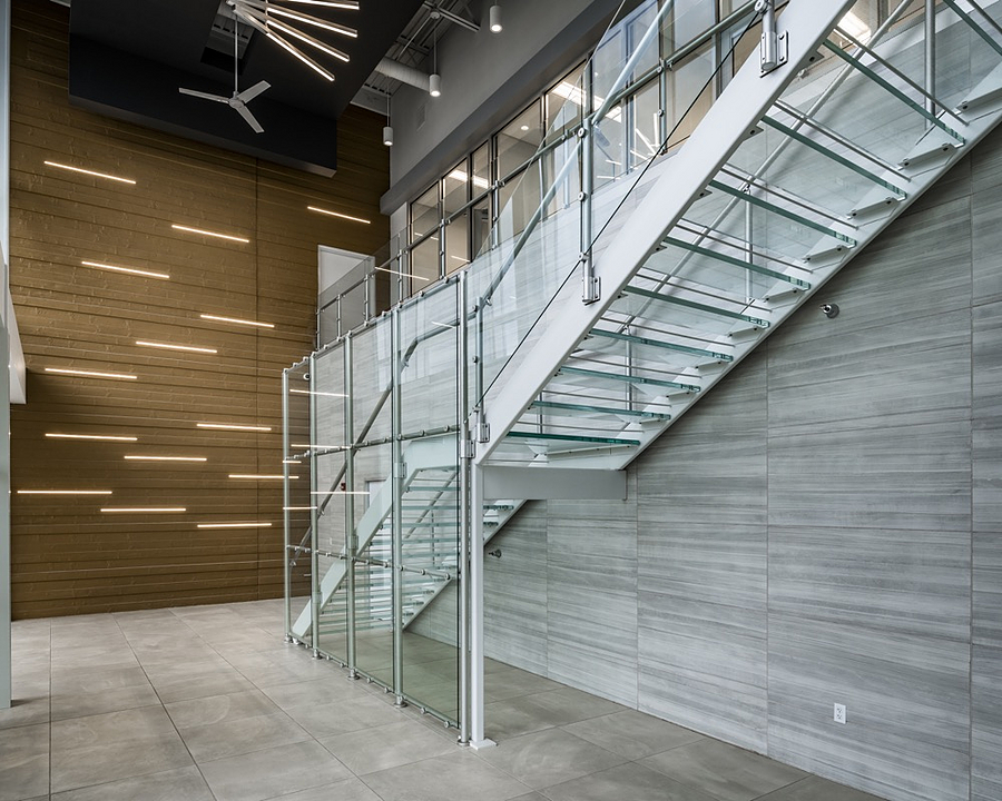 Hollaender® Railings in Offices from Hollaender