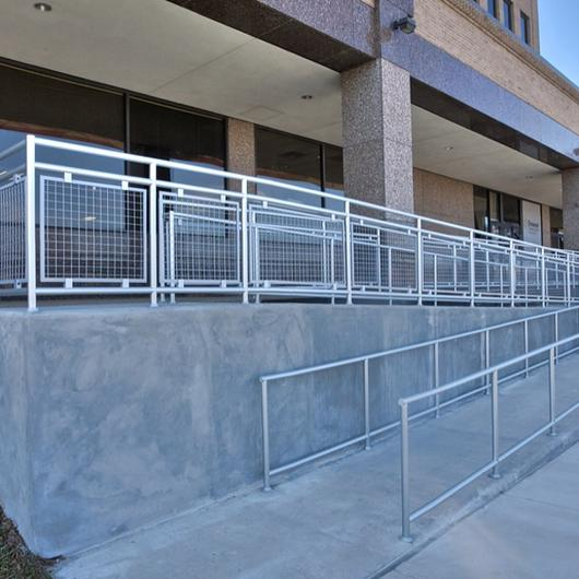 Hollaender® Railings in Healthcare Facilities