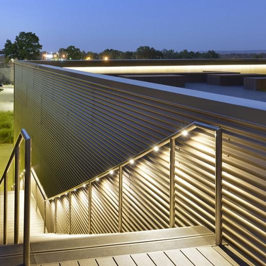 Hollaender® Railings in Public Facilities