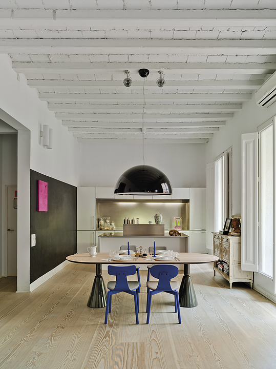 Table and Stools - Pion Collection