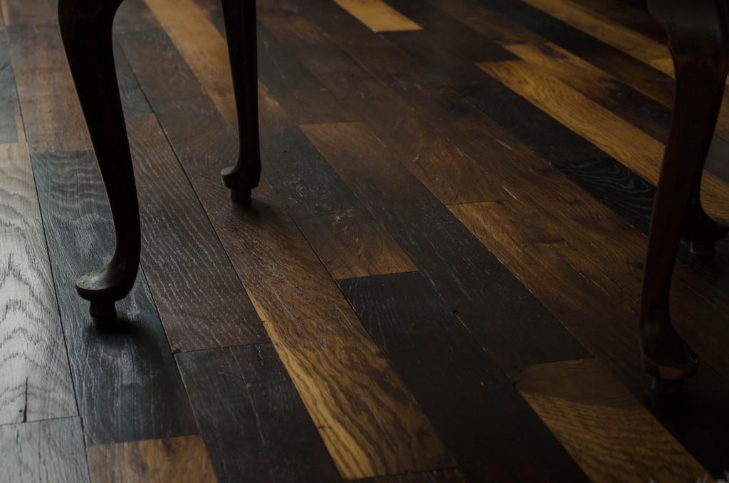 Duelas de roble revestimiento y pavimento de ignisterra - Duelas de madera ...