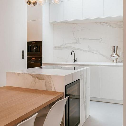 Sintered Stone in City House Refurbishment