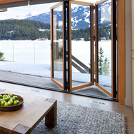 Sistema plegable aluminio madera