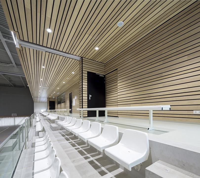 Acoustic Cladding - Linear Veneered Wood Panels
