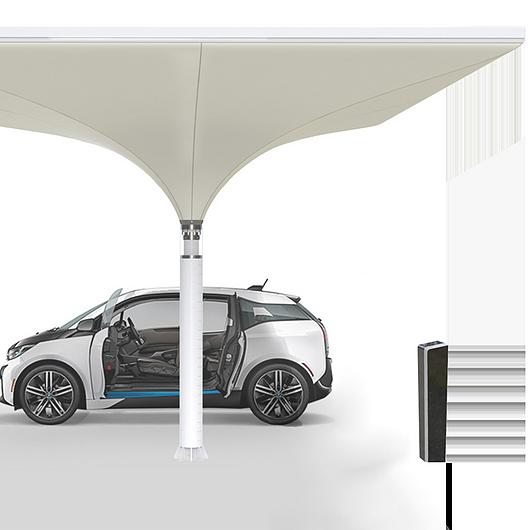 Solar Powered Carport | MDT-Tex