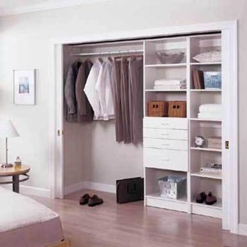 Cl set de mdf enchapado wenge de masisa for Ideas para closets modernos