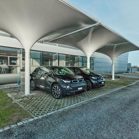 Solar Powered Carport