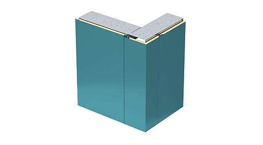 Designwall 1000 Pre-Formed Corner