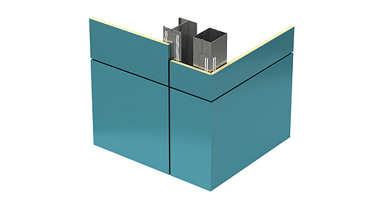 Designwall 1000 Transverse Bent Corner