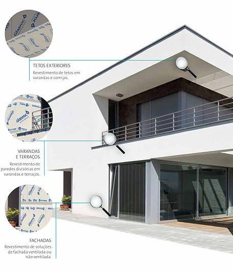 Aplicação Chapa de ultrawall para fachadas Glasroc X - Placo   Saint-Gobain