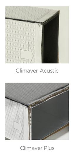 Sistema de dutos leves para ar-condicionado Climaver - Isover | Saint-Gobain