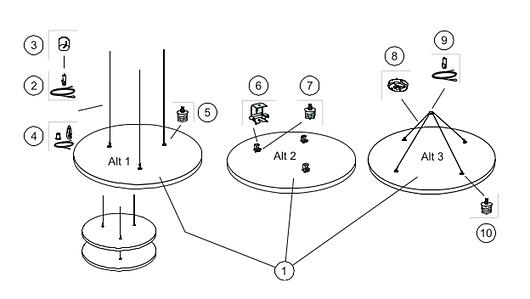 Solução Acústica Solo™ Circle TECH - Ecophon | Saint-Gobain