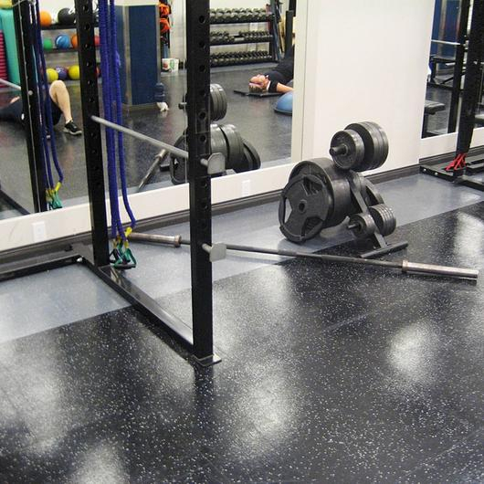 Dropzone Impact Rubber Sports Flooring