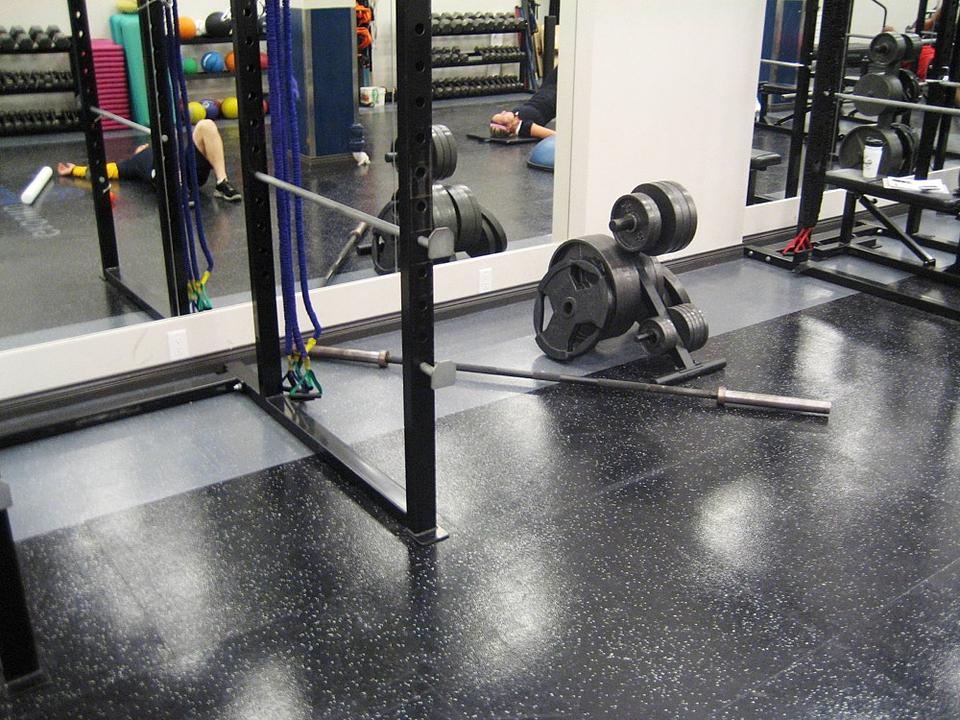 Dropzone Impact Rubber Sports Flooring