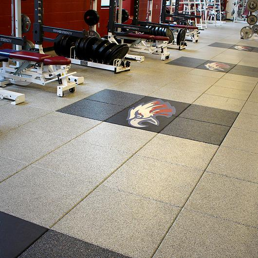 Droptile Max Rubber Sports Flooring / Tarkett Sports