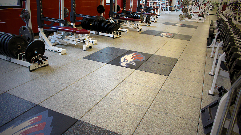 Droptile Max Rubber Sports Flooring