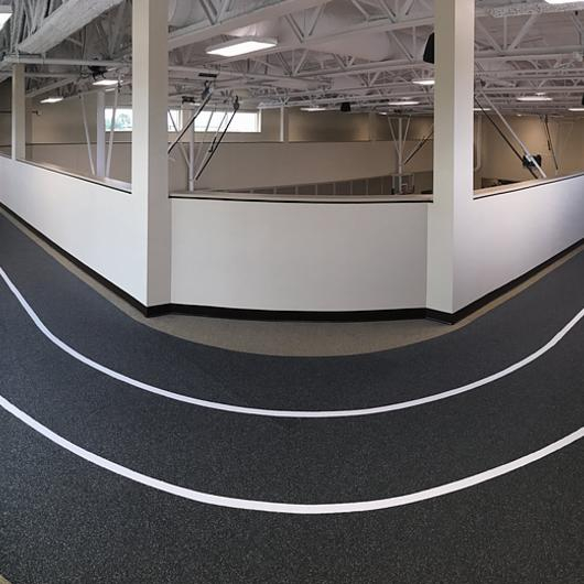 Dropzone Comfort Rubber Sports Flooring