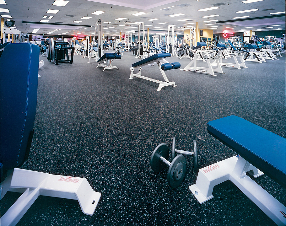Dropzone Elite Rubber Sports Flooring