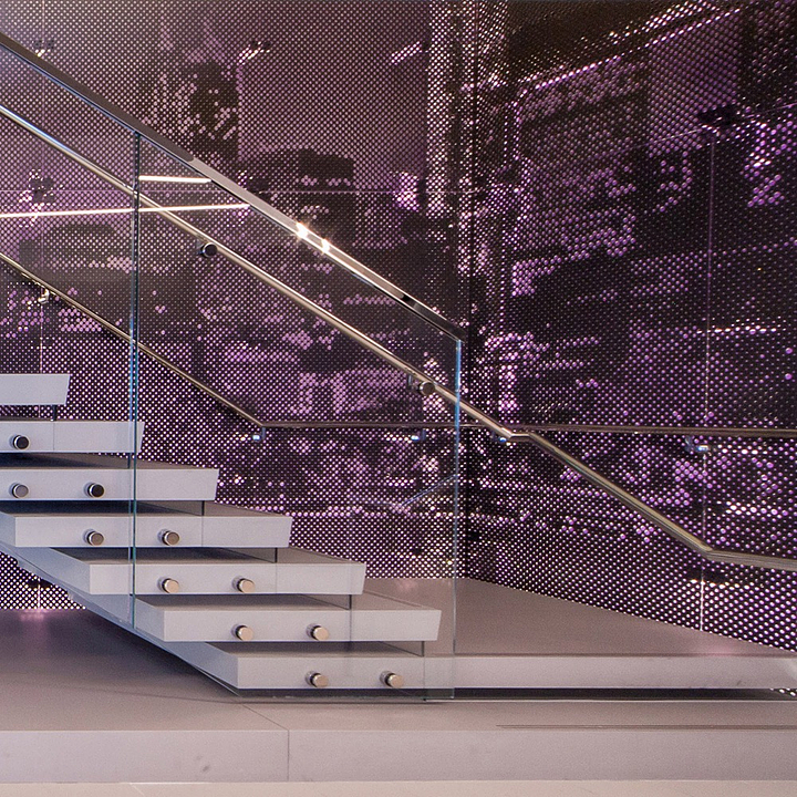 Graphic Perf Metal Panel System