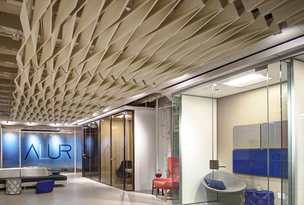 Acoustic Ceiling - SoftFold