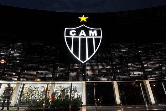 Screenpanel na Sede Administrativa do Clube Atlético Mineiro | Hunter Douglas Brasil