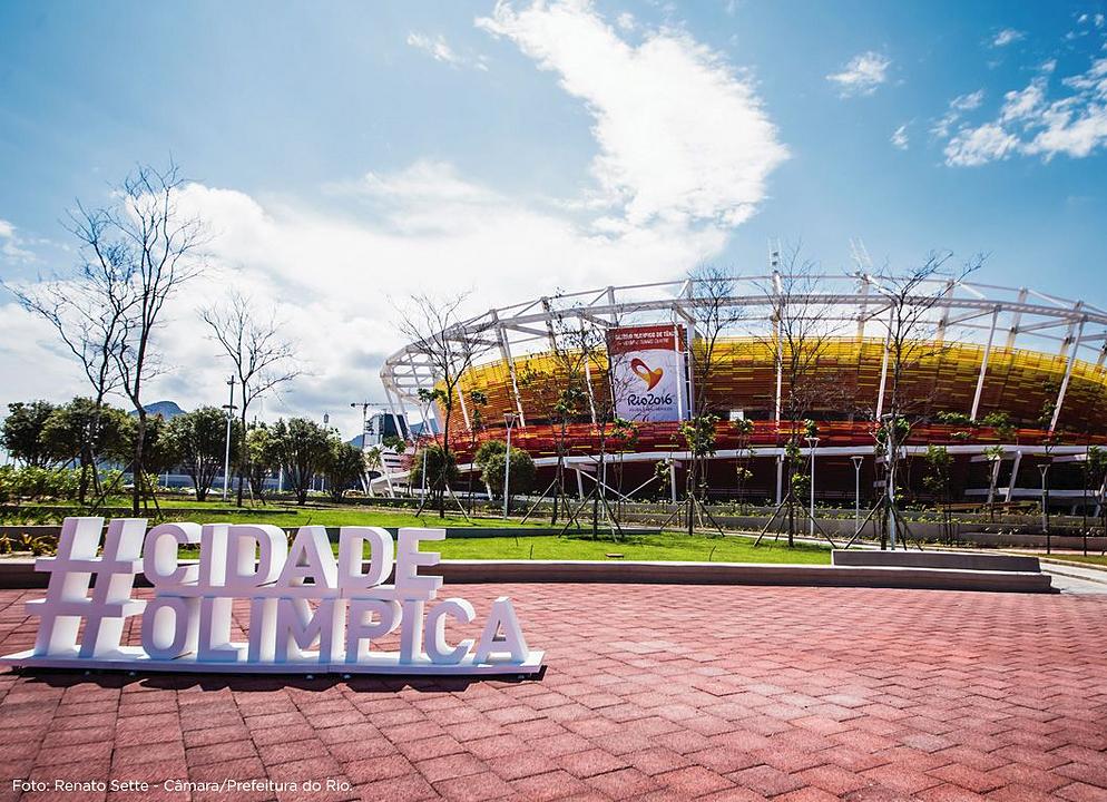Aerobrise no Centro Olímpico de Tênis