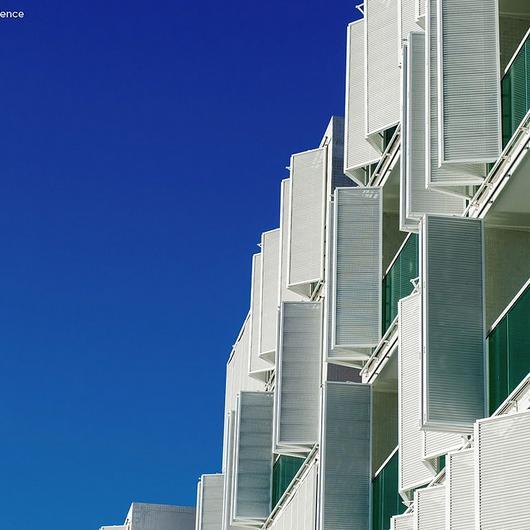 Folding Screen no Hotel Cloc Marina Residence / Hunter Douglas Brasil