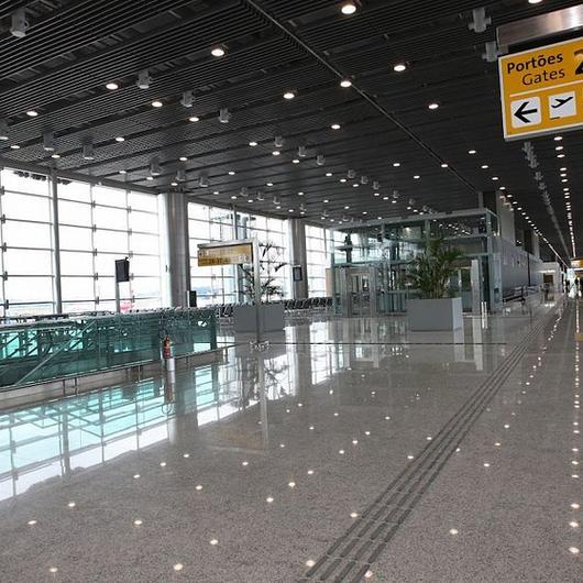 Baffle no Aeroporto Internacional de São Paulo