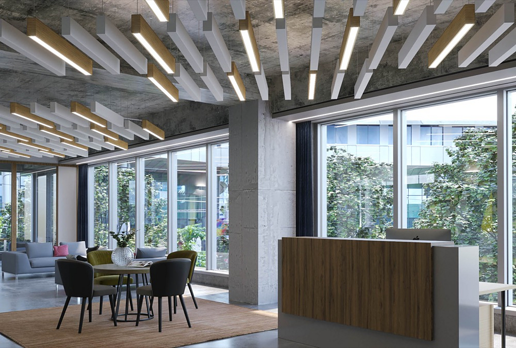 Acoustic and Lighting Ceilings - SoundBar