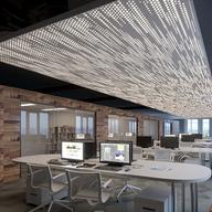 Ceiling System - Barz™– Linear Shapes from USG Ceilings
