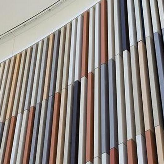 Facade - NBK Terracotta TERRART Baguette / Hunter Douglas Architectural