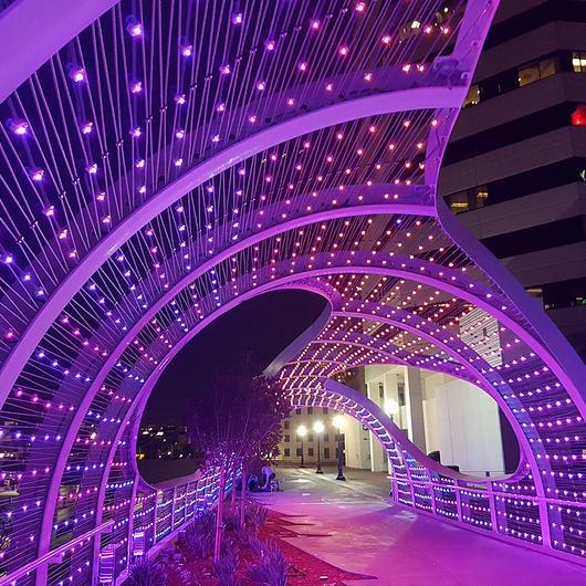 Mallas metálicas para diseño e iluminación LED
