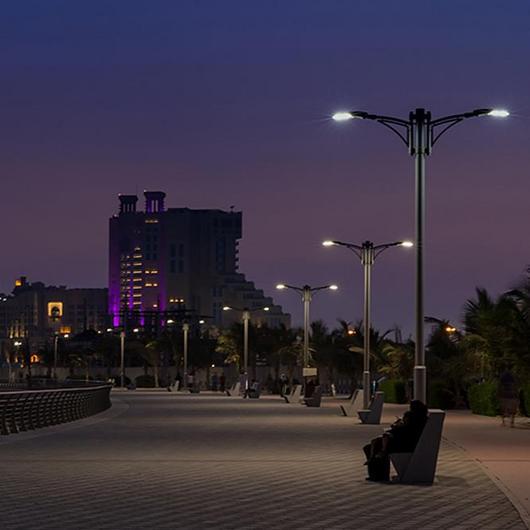 Luminaria LED Exterior - Teceo / Schréder