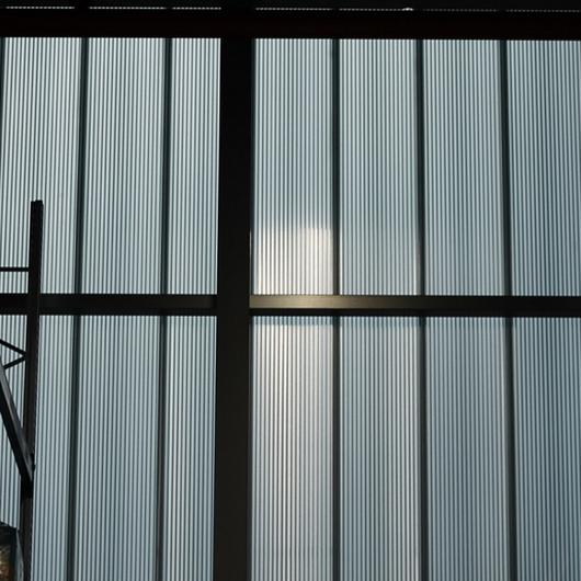 Translucent Facade in Gude GmbH Warehouse / Rodeca