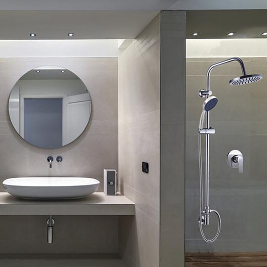 Grifería monomando y columnas de ducha para baños / Nibsa